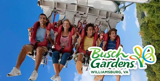 Busch Gardens Williamsburg Williamsburg Vacation Packages