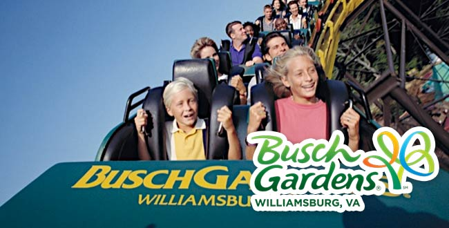 Busch gardens packages williamsburg vacation packages - Busch gardens williamsburg vacation packages ...