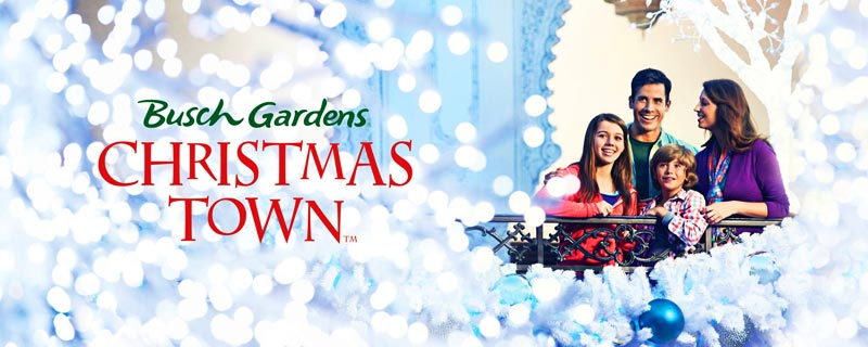Busch Gardens Christmas Town 2017 Home Page Williamsburg Vacation Packages