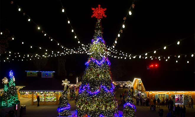 Busch Gardens Williamsburg Christmas Town 5 Day Vacation Williamsburg Vacation Packages