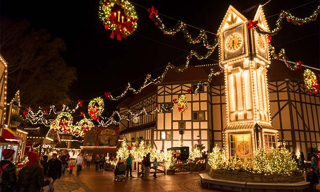 Busch Gardens Williamsburg Christmas Town 5 Day Vacation