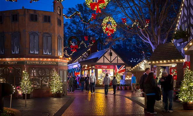 Busch Gardens Williamsburg Christmas Town 3 Day Vacation Williamsburg Vacation Packages
