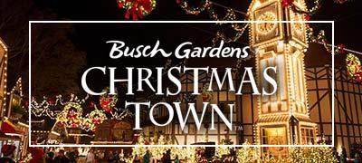 busch gardens christmas town - Busch Gardens Christmas Town Discount Tickets